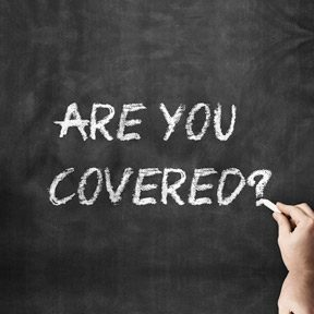 Are You Covered with Insurance? graphic